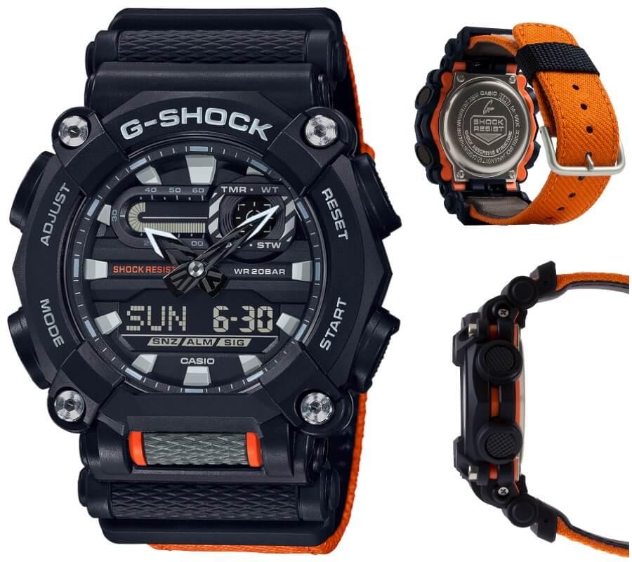 Casio G-Shock GA900C-1A4 Watch Review