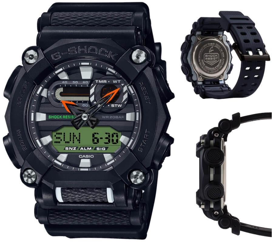 Casio G-Shock GA900E-1A3  Watch Review