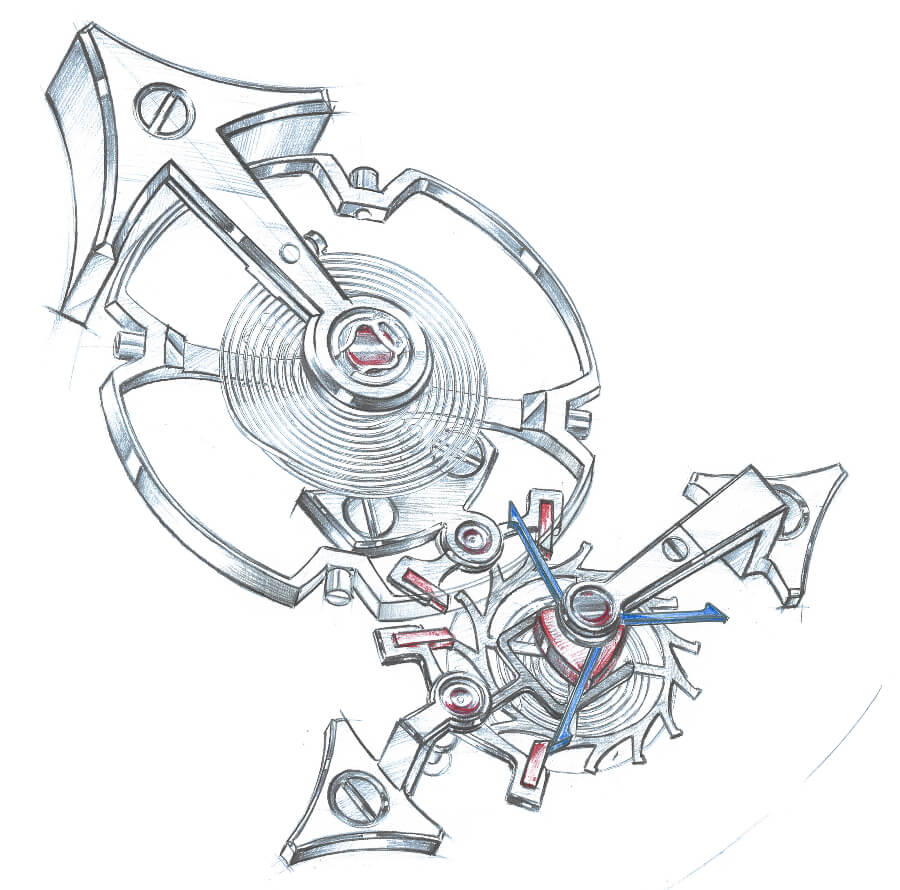 remontoir watch movement