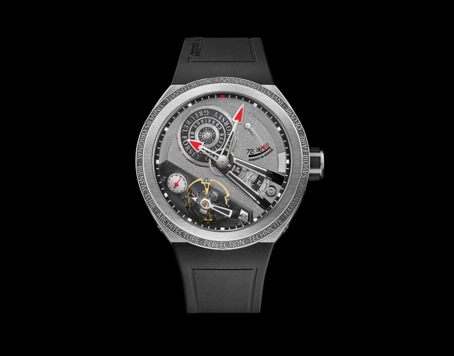 The New Greubel Forsey Balancier S Watch