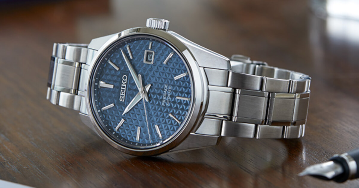 Seiko Presage Sharp Edged Series (Price, Pictures and Specifications)