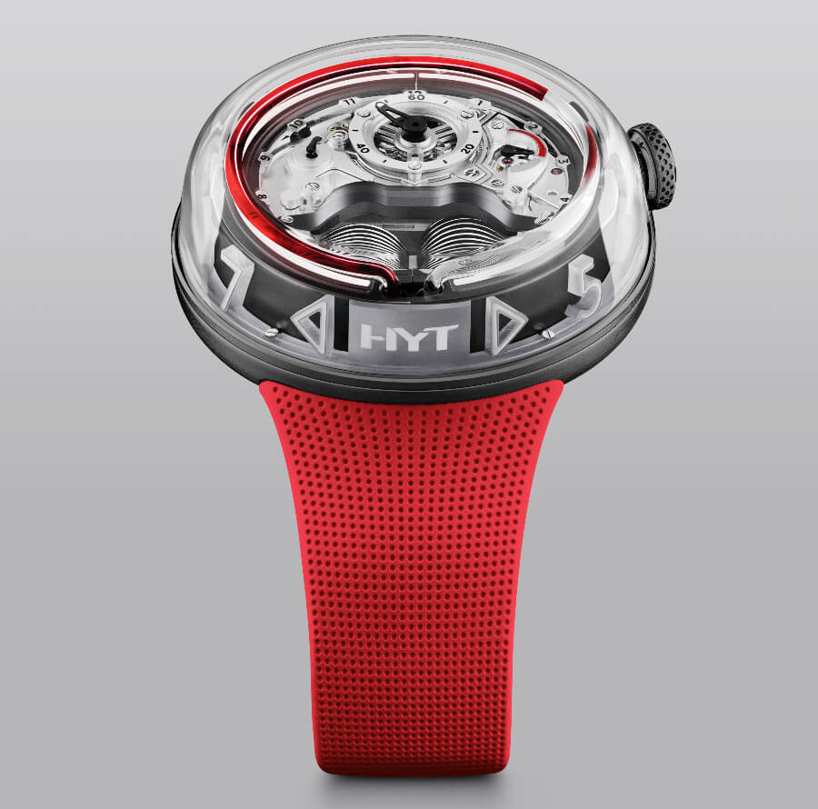 The New HYT H5 Red Limited Edition