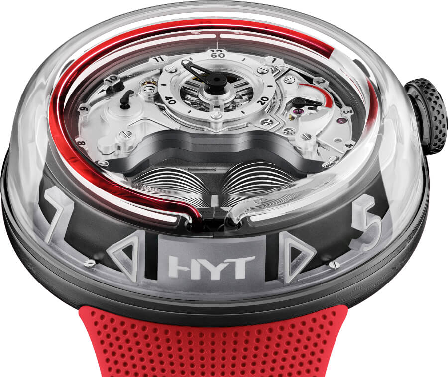 HYT H5 Red Limited Edition Watch