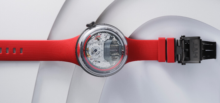 HYT H5 Red Limited Edition In House Movement