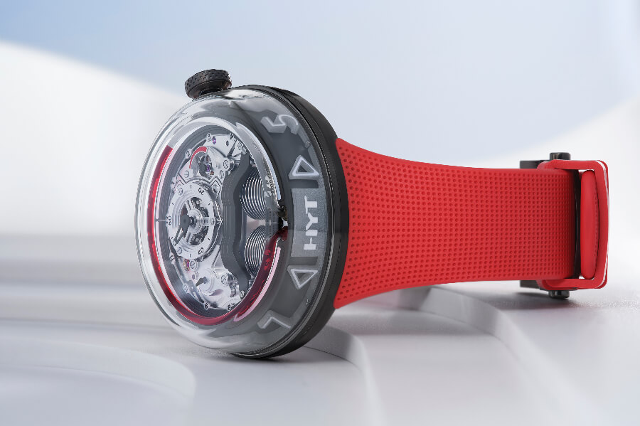 HYT H5 Red Limited Edition Watch Review