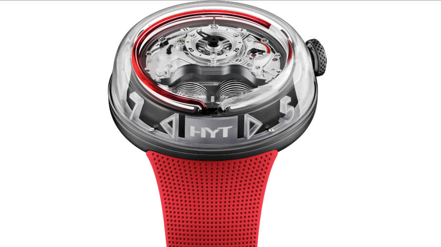 Men Watches HYT H5 Red Limited Edition