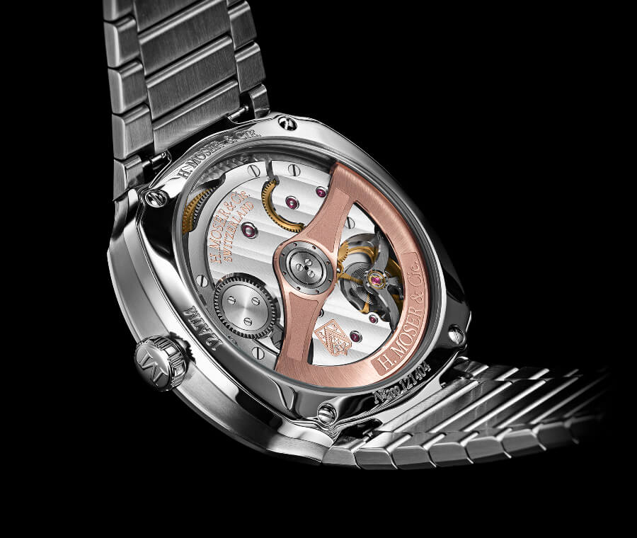 H. Moser & Cie. Streamliner Centre Seconds In House Movement