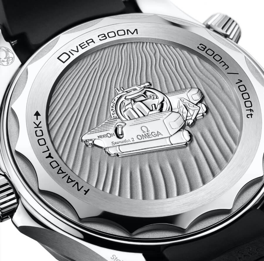 Omega Seamaster Diver 300M Nekton Edition Case Back