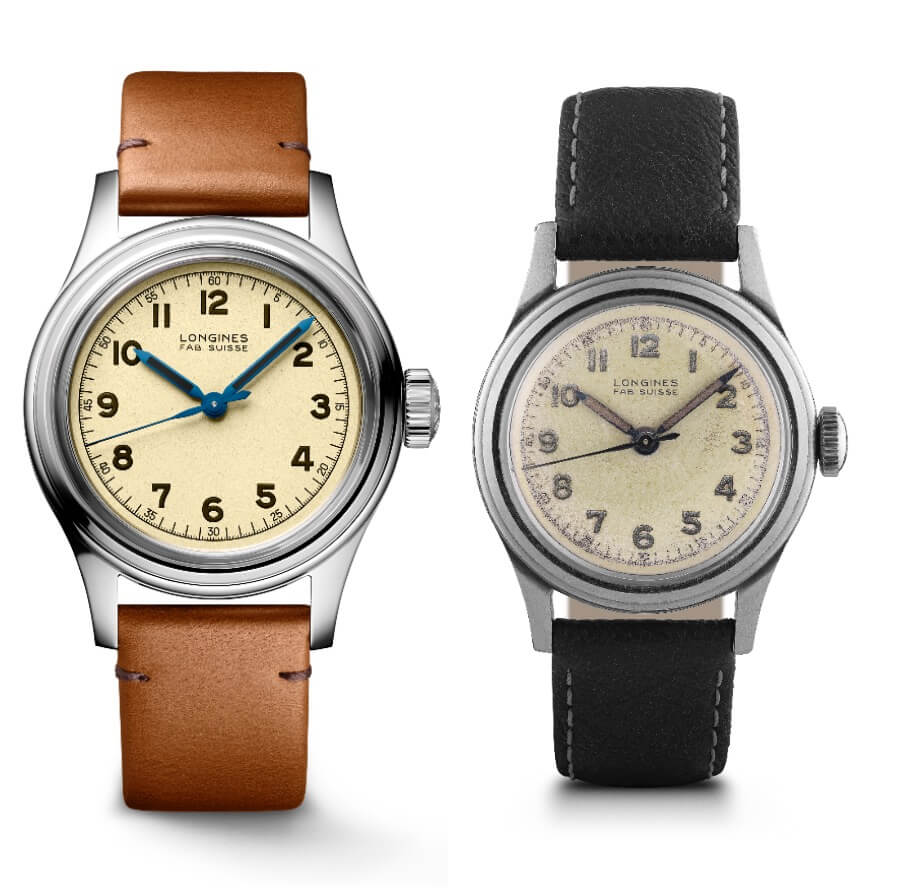 Longines Heritage Military Marine Nationale and The Original Model