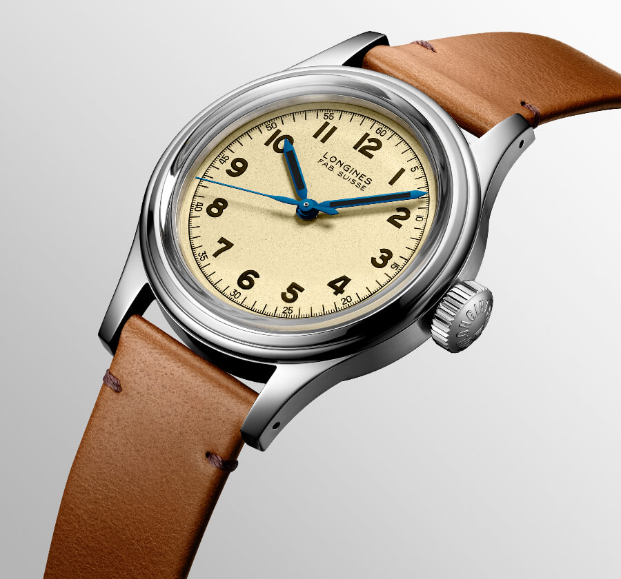 The New Longines Heritage Military Marine Nationale