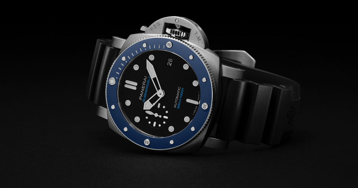 The New Panerai Submersible Azzurro – 42 MM PAM01209 (Price, Pictures and Specifications)