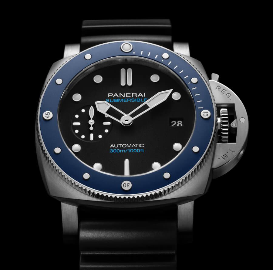 The New Panerai Submersible Azzurro – 42 MM PAM01209