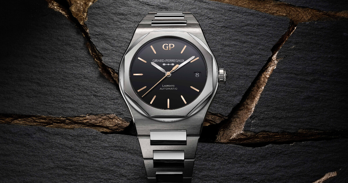Girard-Perregaux Laureato 38 and 42 mm Infinity Edition (Price, Pictures and Specifications)
