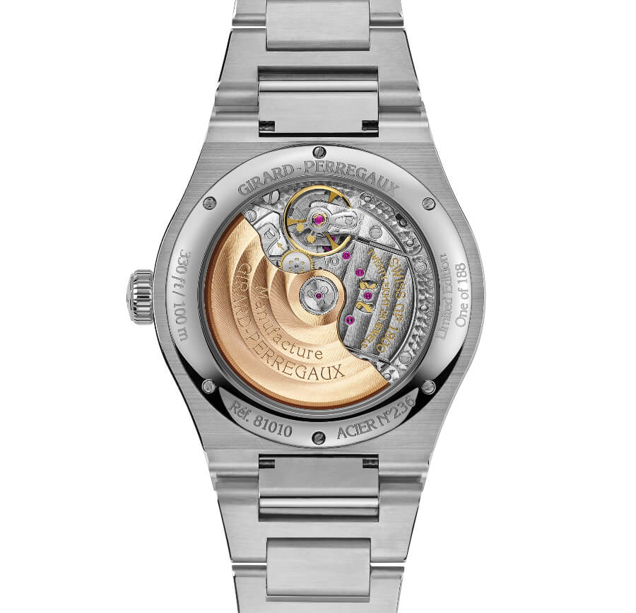 Girard-Perregaux Laureato 42 MM Infinity Edition In House Movement