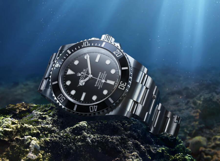 Rolex Submariner 41mm No Date Ref. 124060 Watch Review