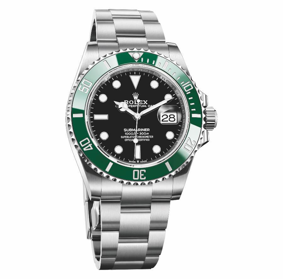 Rolex Submariner Date 41 MM Green Bezel