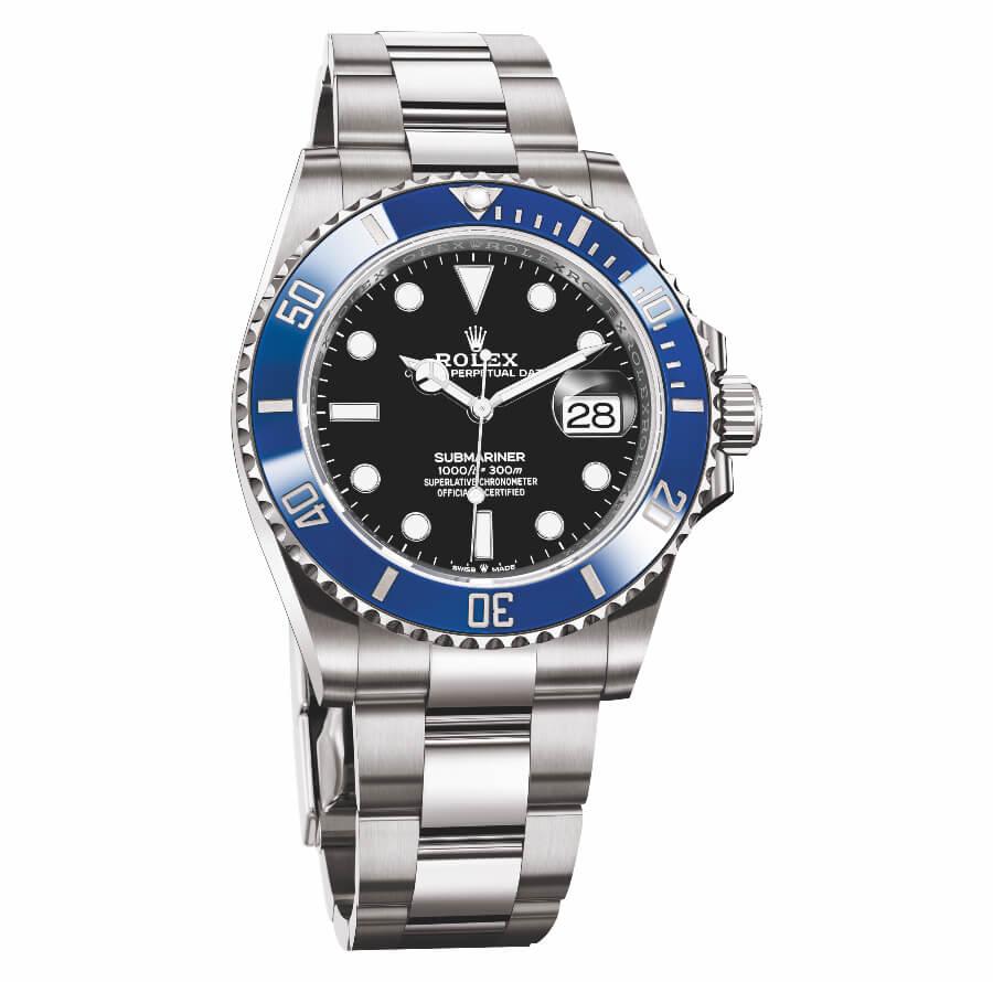 Rolex Submariner Date 41 MM Blue Bezel