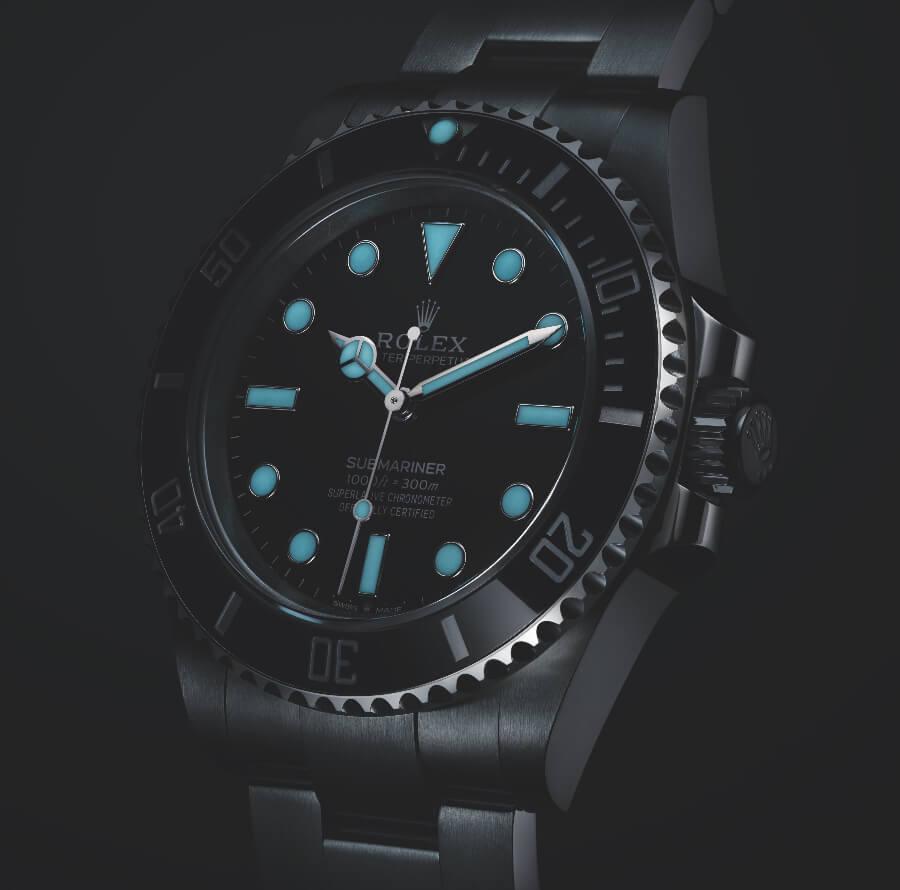 Rolex Ref. 124060 SuperLuminova