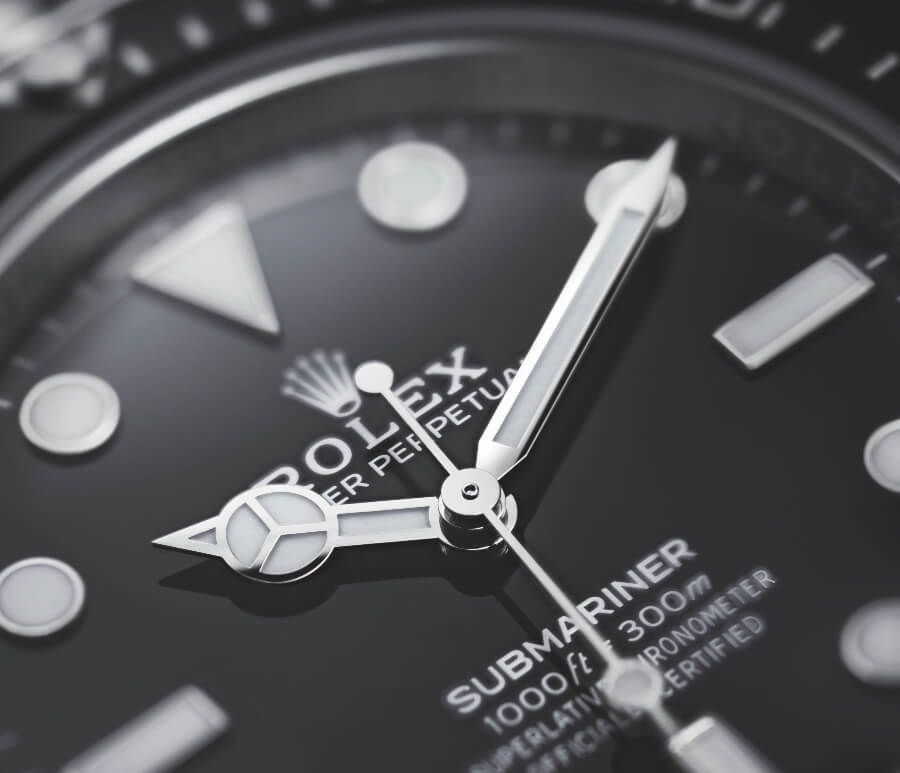 Rolex Submariner 41mm No Date Ref. 124060 Dial