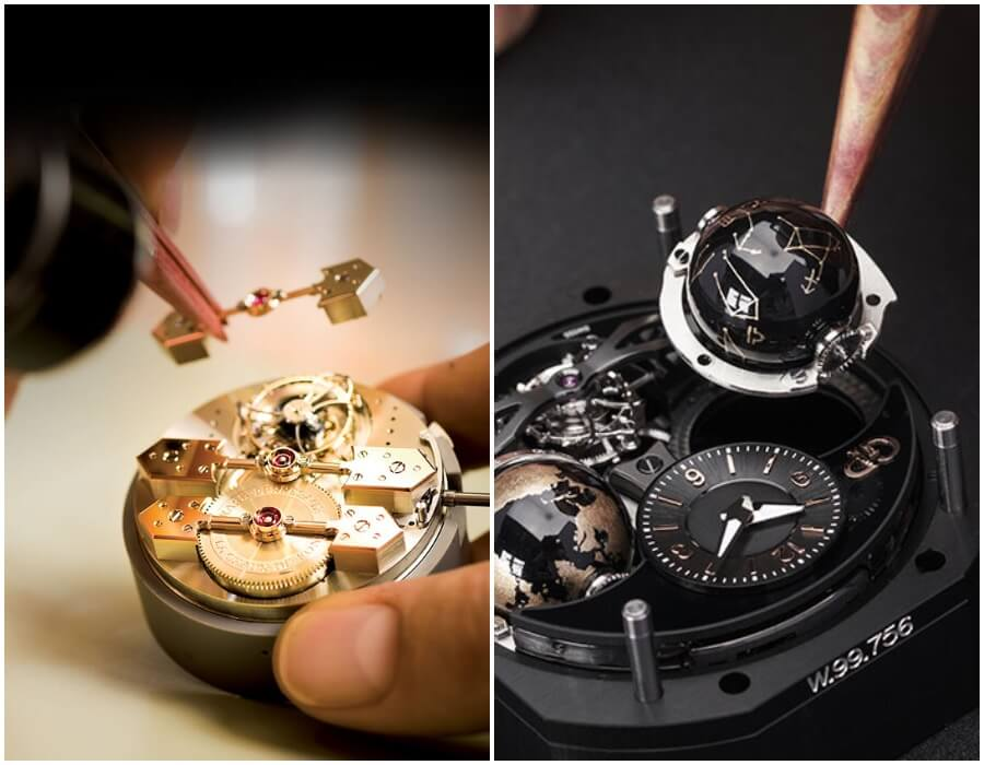 Girard-Perregaux Cosmos Infinity Edition In House Movement