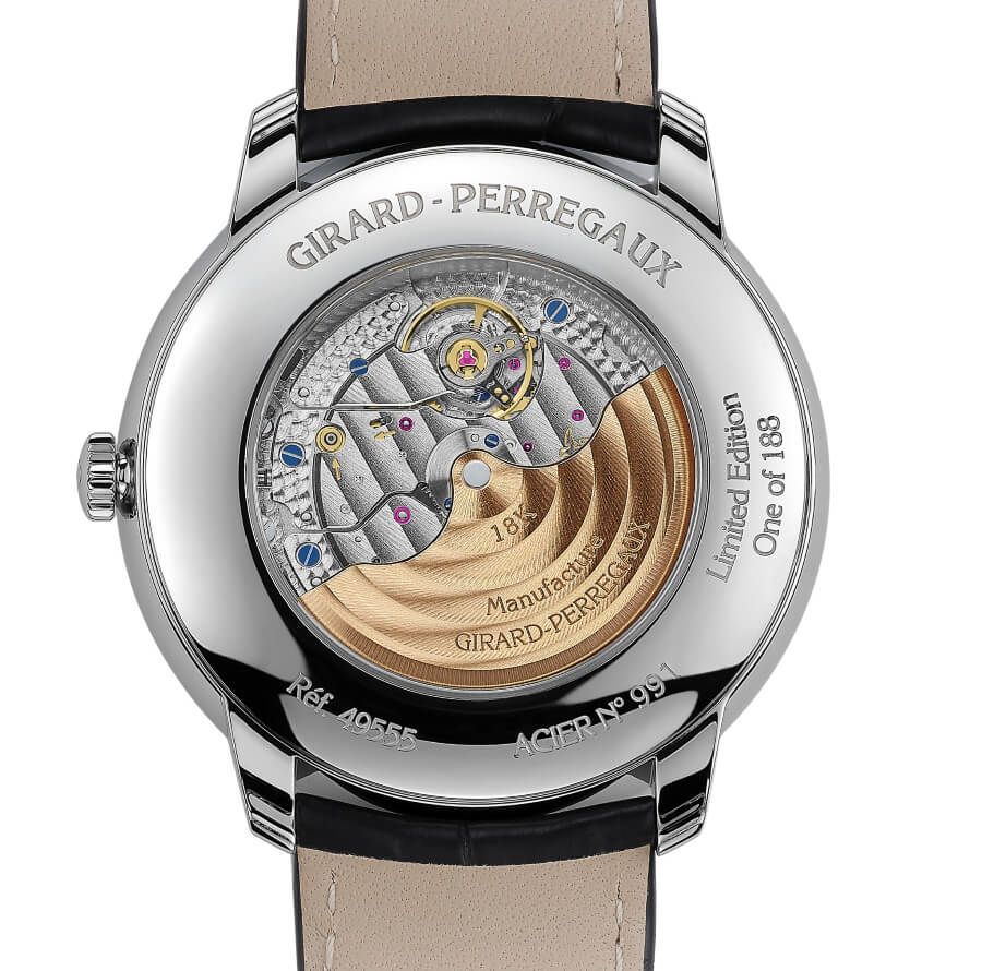Girard-Perregaux 1966 – 40 mm Infinity Edition In House Movement