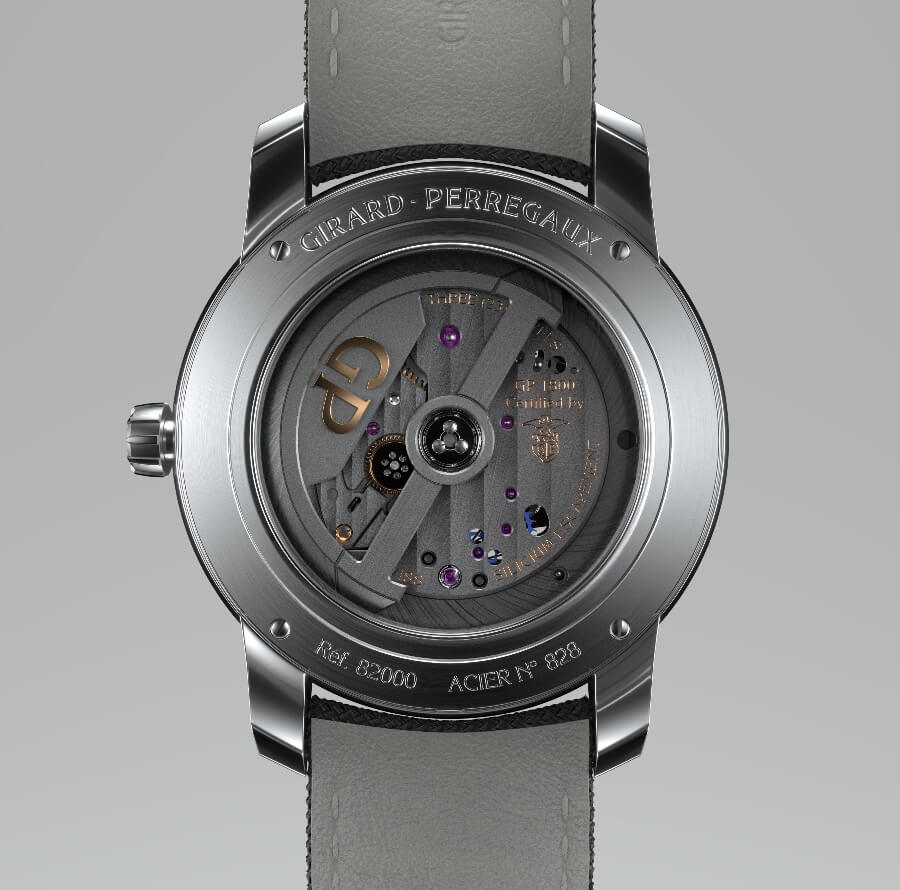 Girard-Perregaux Free Bridge In House Movement