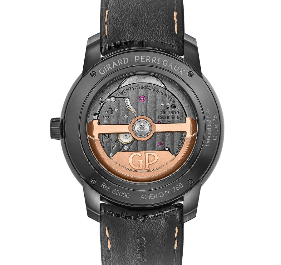 Girard-Perregaux Free Bridge Infinity Edition In House Movement