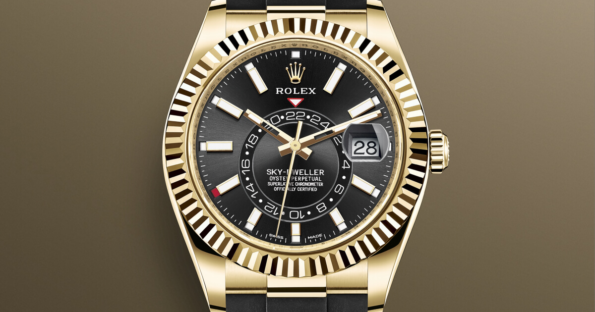 The New Rolex Sky-Dweller With Oysterflex Bracelet (Price, Pictures and Specifications)