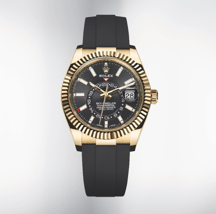 Rolex Sky-Dweller Oysterflex ref. 326238