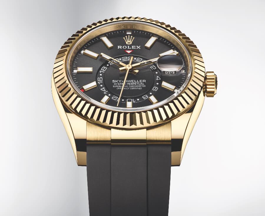 The New Rolex Sky-Dweller Oysterflex 2020 Watch