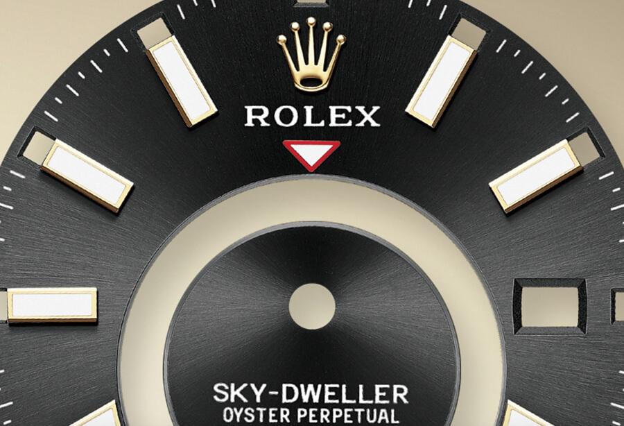 Rolex Sky-Dweller Oysterflex Dial