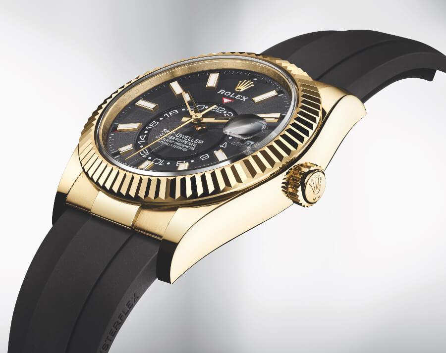 Rolex Sky-Dweller Oysterflex Watch review