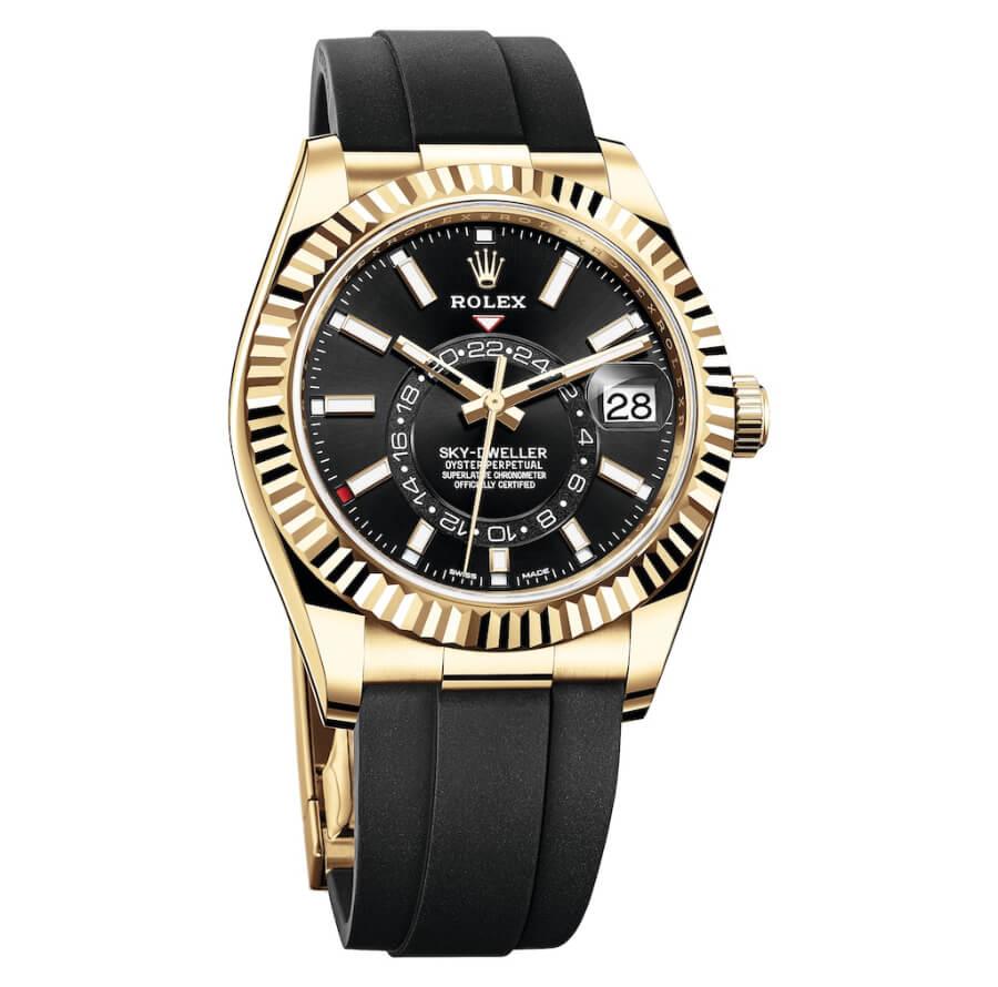 Rolex Sky-Dweller With Oysterflex Bracelet