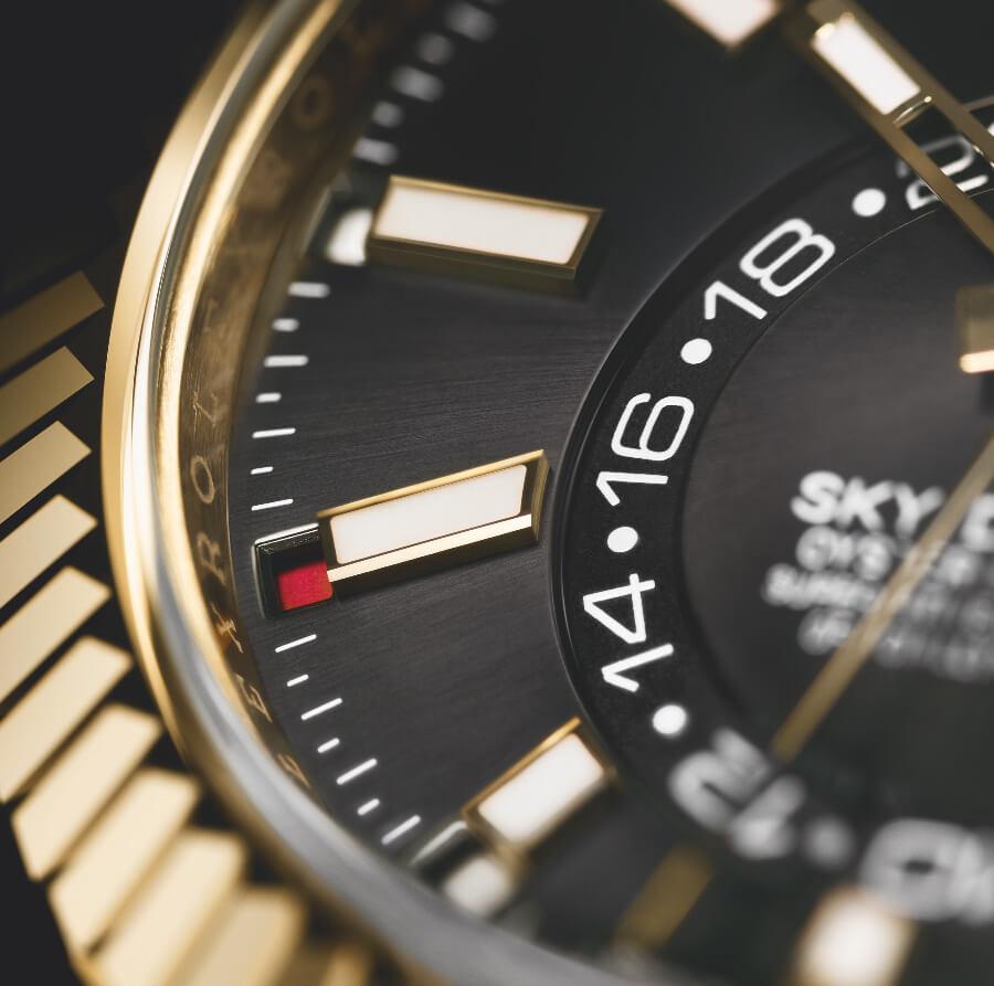 Rolex Sky-Dweller With Oysterflex Bracelet Dial