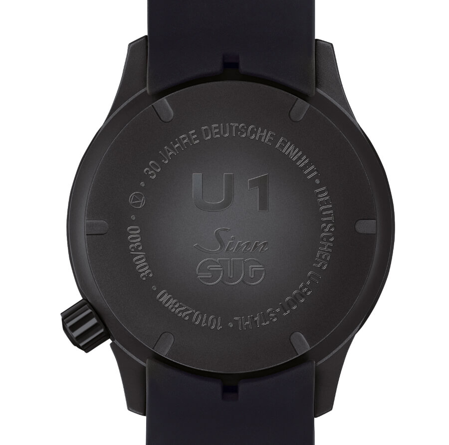 Sinn U1 DE Case Back