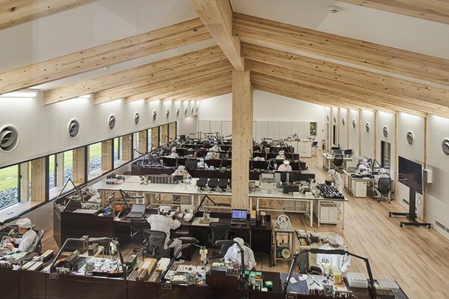 Inside Grand Seiko Factory Japan