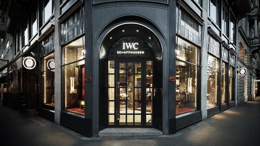 IWC Zurich Boutique Exterior