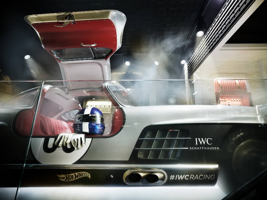 IWC Zurich Boutique Mercedes 300SL Side