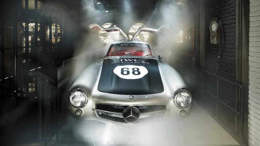 IWC Zurich Boutique Mercedes 300SL