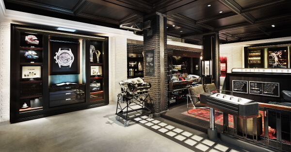 IWC'S New Boutique Concept In Zurich