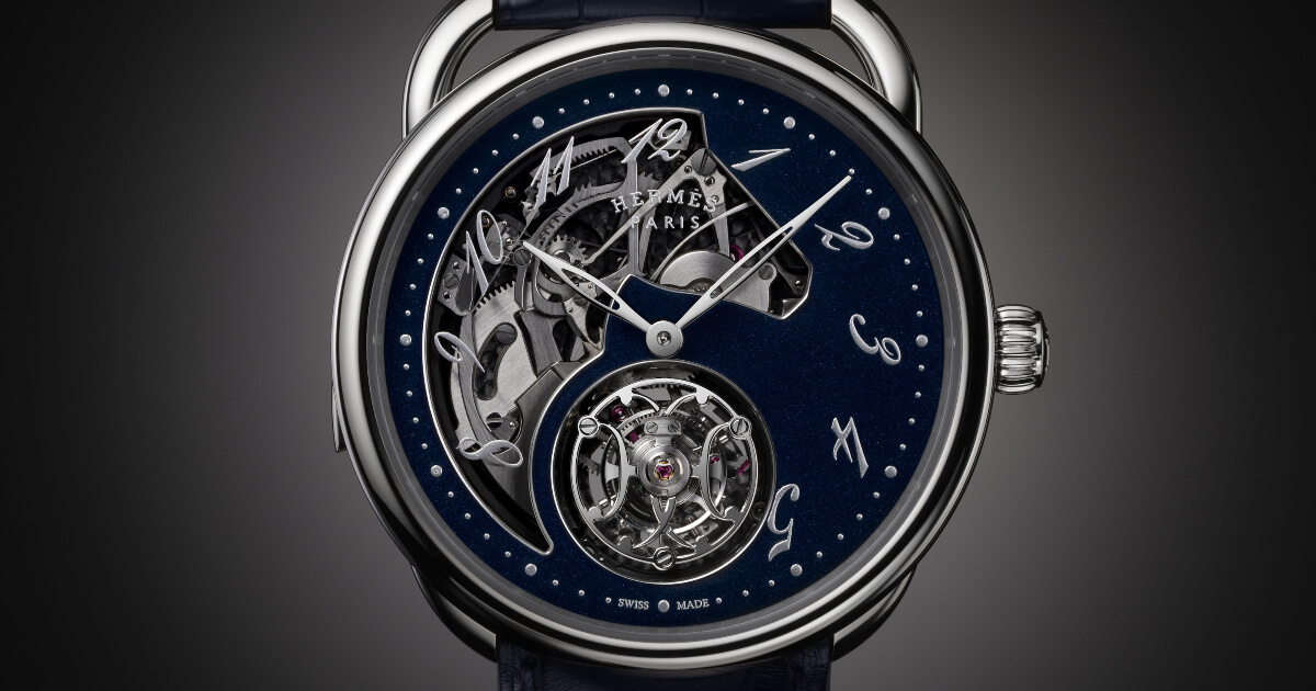 Hermes Arceau Lift Tourbillon Répétition Minutes (Price, Pictures and Specifications)