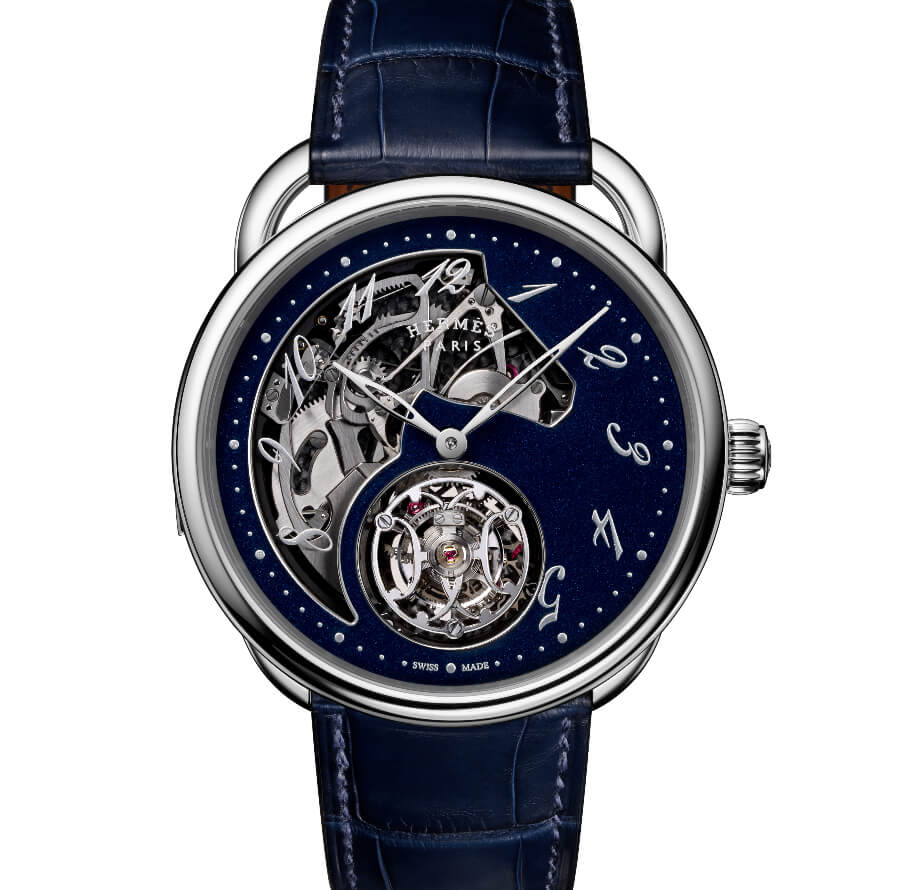 The New Hermes Arceau Lift Tourbillon Répétition Minutes