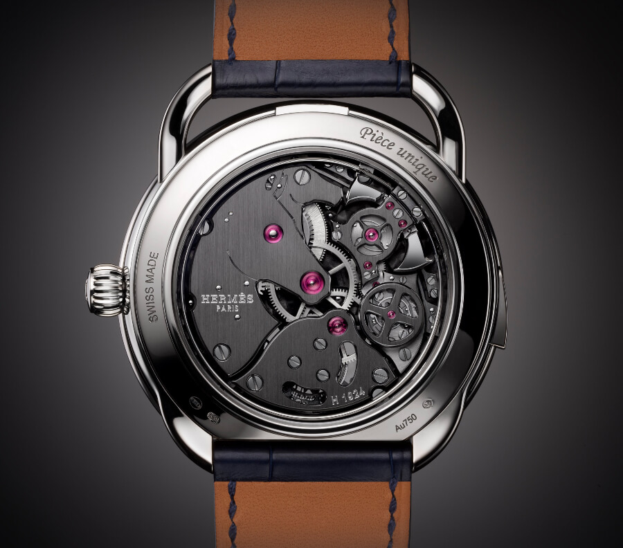 Hermes Arceau Lift Tourbillon Répétition Minutes Watch Movement