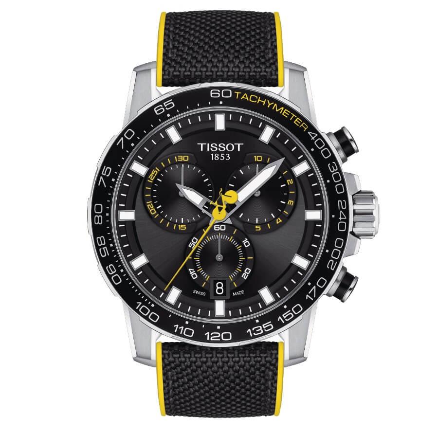 The New Tissot Supersport Chronograph Tour De France 2020