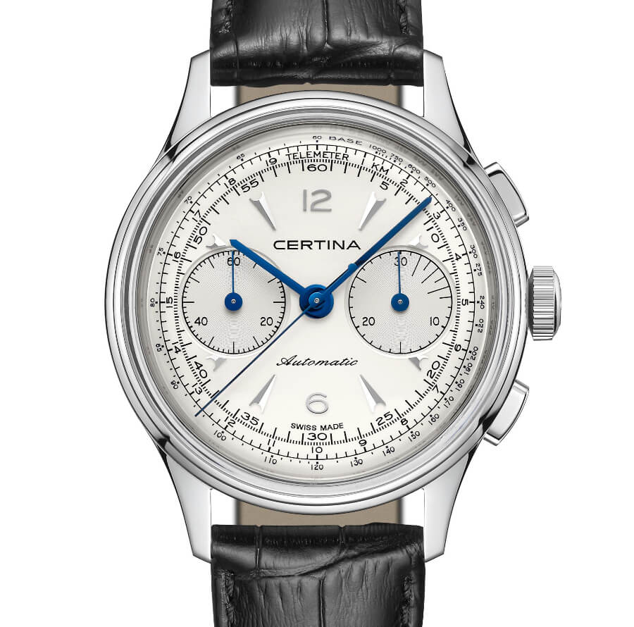 The New Certina DS Chronograph Automatic