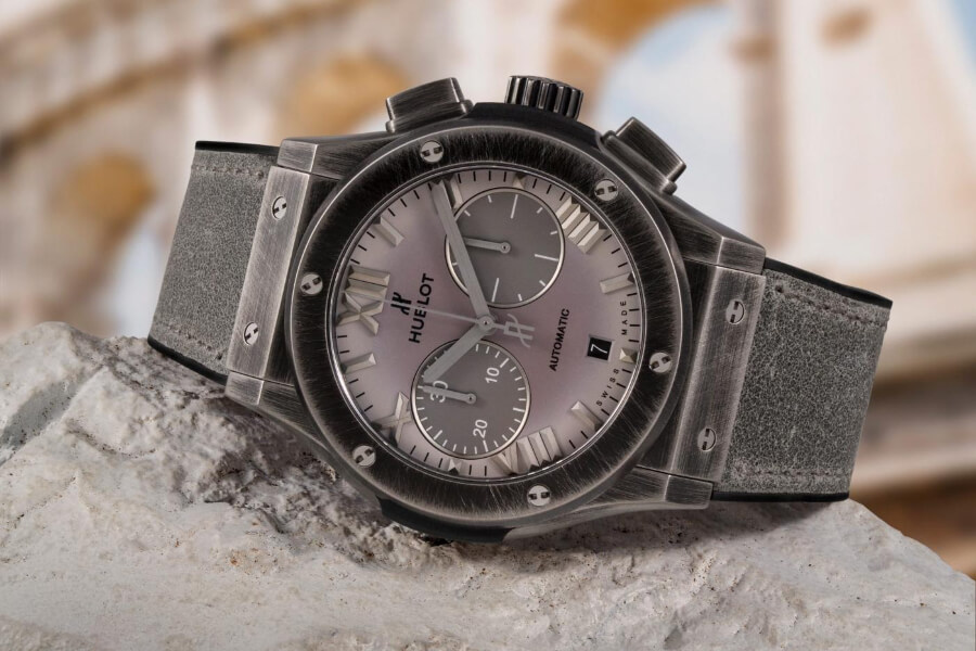 Hublot Classic Fusion Chronograph Special Edition Boutique Roma watch Review
