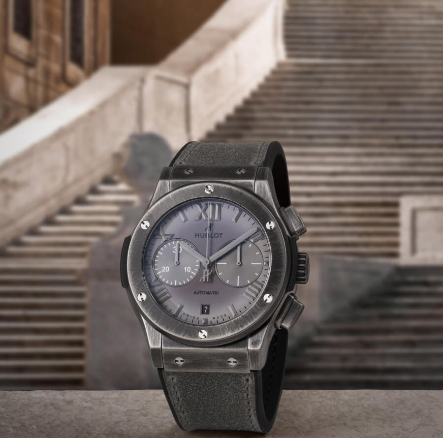 The New Hublot Classic Fusion Chronograph Special Edition Boutique Roma