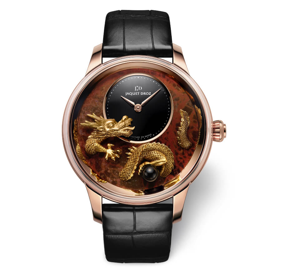The New Jaquet Droz Petite Heure Minute Relief Dragon