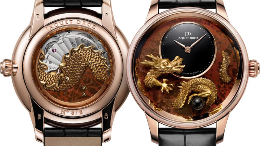 Jaquet Droz Petite Heure Minute Relief Dragon Wach Review