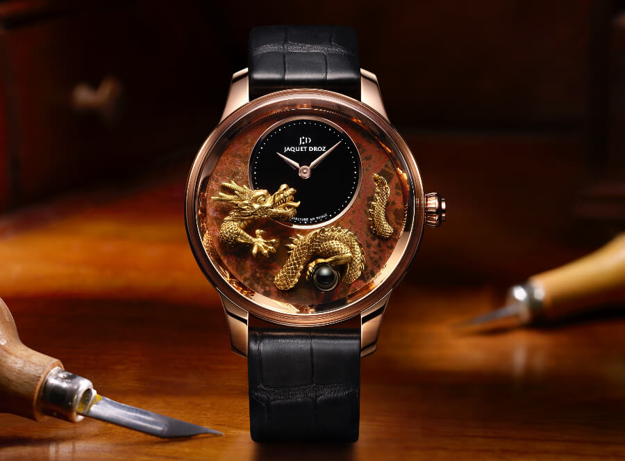 Jaquet Droz Petite Heure Minute Relief Dragon Watch Review